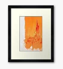 The Player of Games Framed Print