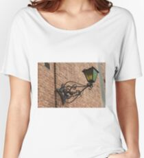 old lamp on the wall Women's Relaxed Fit T-Shirt