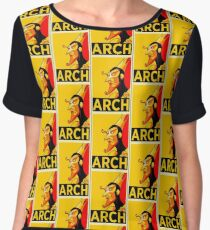 THE ARCH OBEY Chiffon Top