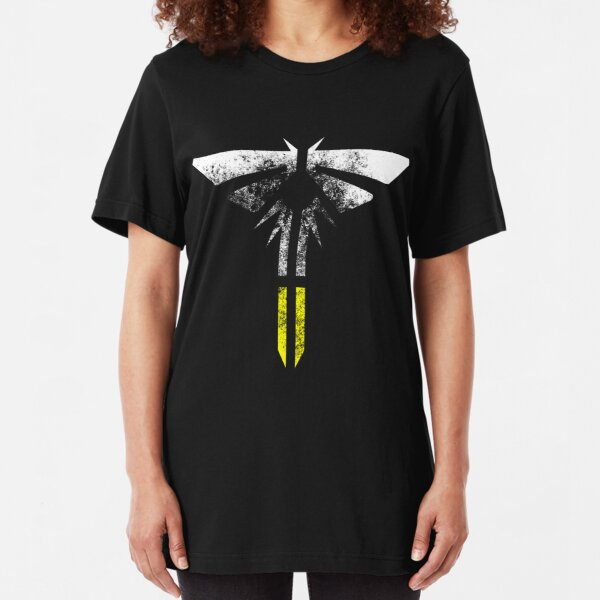 The Last of Us Part II: Firefly Light Eroded Slim Fit T-Shirt
