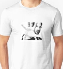 Keanu Reeves (Black and White Silent Attitude) T-Shirt