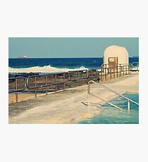 Merewether Pumphouse and Ocean Baths  Photographic Print