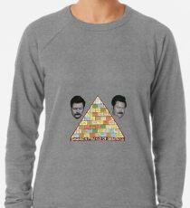 Pyramide der Größe Leichtes Sweatshirt