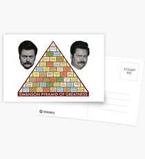 Pyramid of greatness Postcards