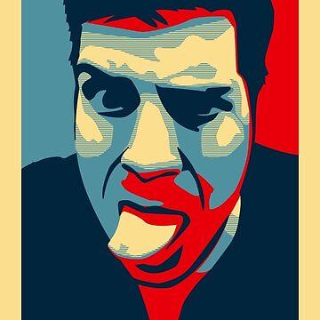 Reujken Profile Picture - Shepard Fairey Obama Hope Style by reujken