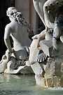 Roman Beauty in Piazza Navona by Alessandro Pinto