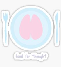 Zombie - Food for thought Sticker