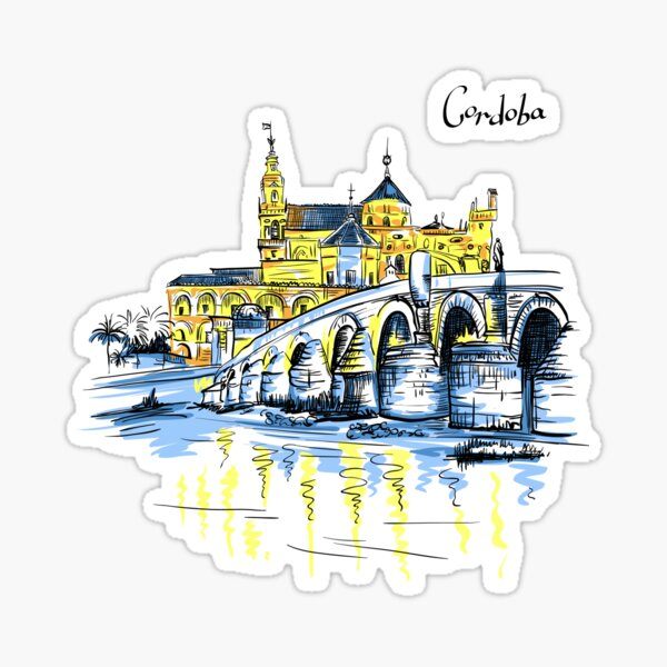 Cordoba, Andalusia, Spain Sticker