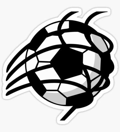 Goal - Soccer Ball in the Net VRS2 Sticker