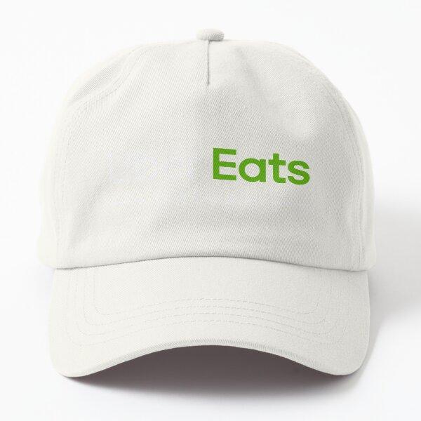 Uber Eats Delivery Driver Classic Logo Black UberEats Unofficial Uniform Dad Hat