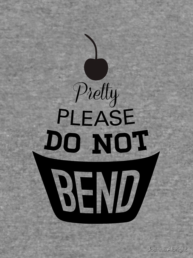 Pretty Please Cherry On Top Do Not Bend Lightweight Hoodie By
