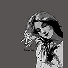 Lillian Gish by Olivia Trainor