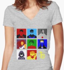 Titans GO!! Women's Fitted V-Neck T-Shirt