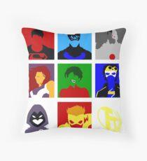 Titans GO!! Throw Pillow