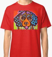 Miss Sophia Designer Dog Puppy Design Fun Colorful Beagles Basset Hound Foxhound English Yorkshire Talbot Bloodhound  Classic T-Shirt