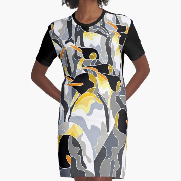 Penguins Graphic T-Shirt Dress