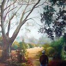 Morning stroll (Werribee-Victoria) by Ivana Pinaffo