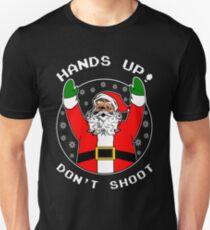 Dont Shoot Black Santa T-Shirt