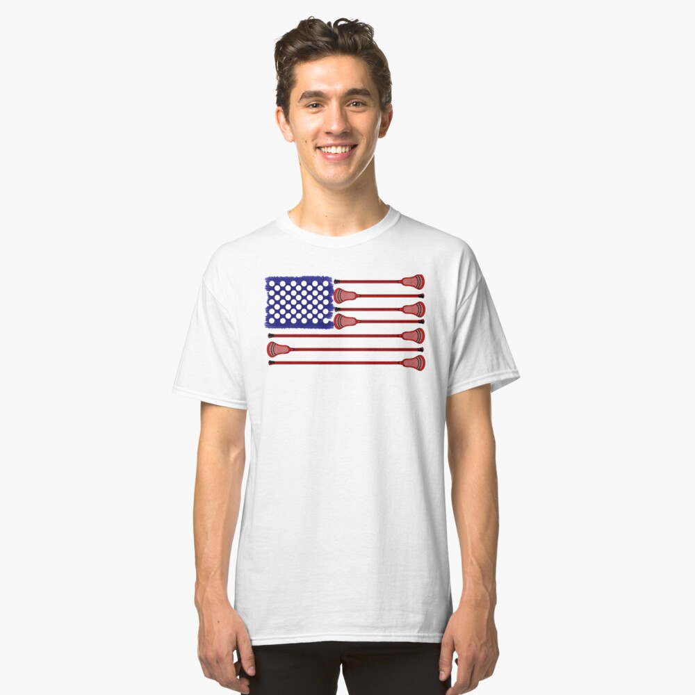 Lacrosse AmericasGame Classic T-Shirt Front