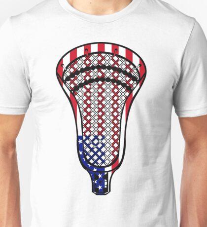 Lacrosse Head Flag Unisex T-Shirt