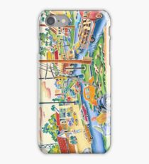 Small town, traffic, midwest, iPhone Case/Skin
