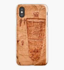 Horseshoe Canyon Great Gallery Figure 7 Pictographs iPhone Case/Skin