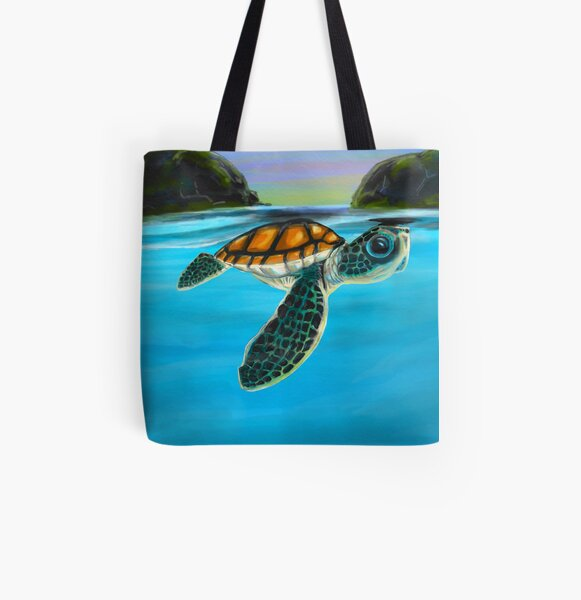 Baggage Covers Colorful Sea Turtles Algae Purple Washable Protective Case