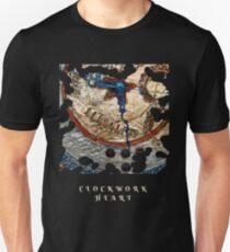 LOVE HEART VICTORIAN STEAMPUNK STYLE CLOCK Unisex T-Shirt