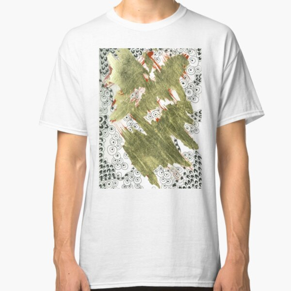 Golden (Mixed Media and Pattern) Classic T-Shirt