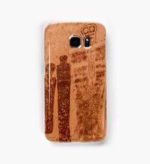 Great Gallery Pictographs 4 - Canyonlands - Utah Samsung Galaxy Case/Skin