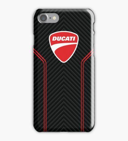 Ducati case (carbon weave) iPhone Case/Skin