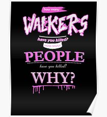 TWD questions Poster