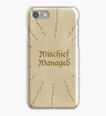 Mischief Managed - Simple iPhone Case/Skin