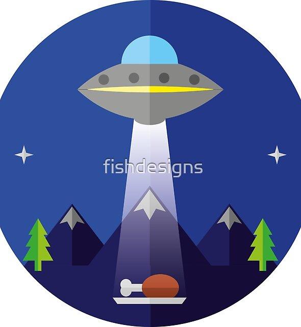 UFO  by fishdesigns