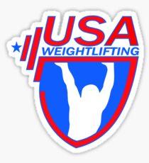 Team USA Weightlifting Sticker