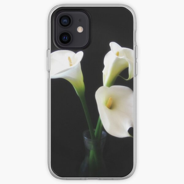 Elegant Calla Lily Flowers 12 iPhone Soft Case