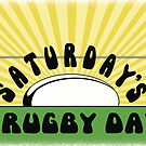 Saturday's a Rugby Day Sunrise by CobyLyn