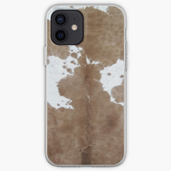 Cowhide. iPhone Soft Case