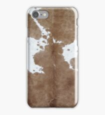 Cowhide. iPhone Case/Skin