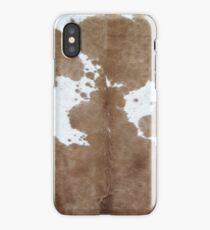 Cowhide. iPhone Case/Skin