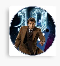 Doctor 10th  Canvas Print