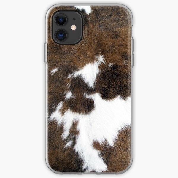 Cowhide iPhone Soft Case