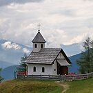 A Chapel in the Austrian Alps. by Lee d'Entremont