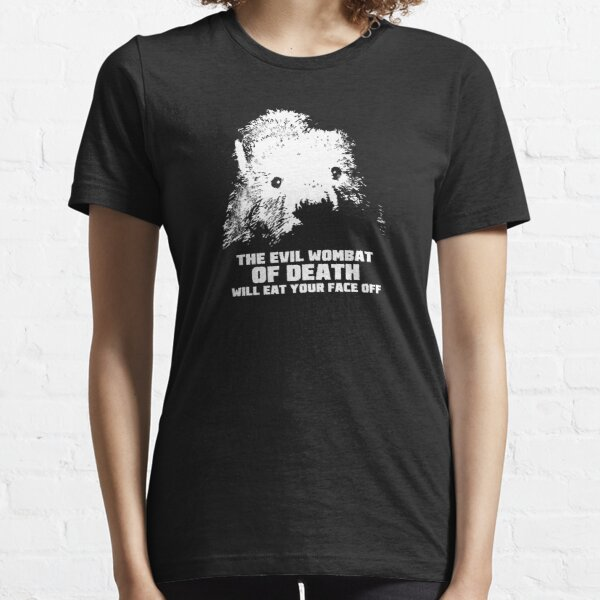The Evil Wombat of Death Essential T-Shirt