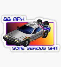 88 MPH Sticker