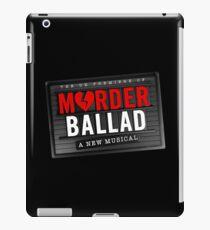 Murder Ballad iPad Case/Skin