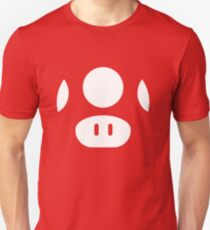 Super Mario Mushrooms Unisex T-Shirt