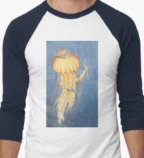 The Jellyfish Stinger Gunslinger Men's Baseball ¾ T-Shirt