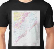 USGS TOPO Map New Jersey NJ Ocean City 254663 1952 24000 Unisex T-Shirt
