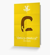 Ned Flanders Greeting Card